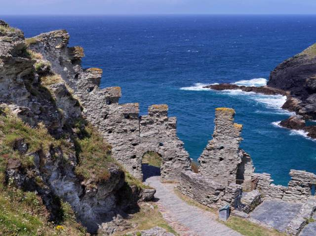 Tintagel Castle, Tintagel, Cornwall