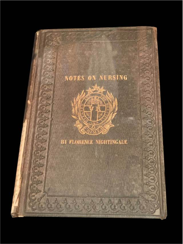An early copy of Florence Nightingale's 'Notes on Nursing: What it is and What it is Not'.