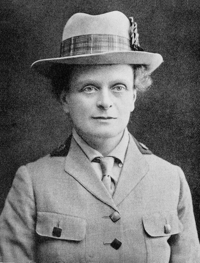 Elsie Inglis, London 1918