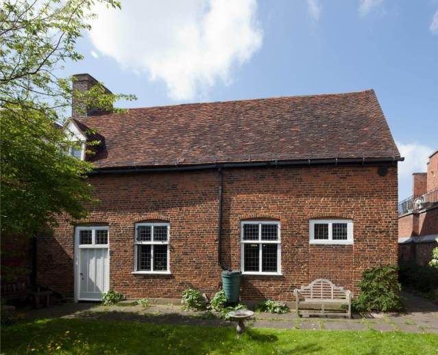Exterior of Quaker Meeting House, Railway Street, Hertford, Hertfordshire © Historic England Archive DP160136