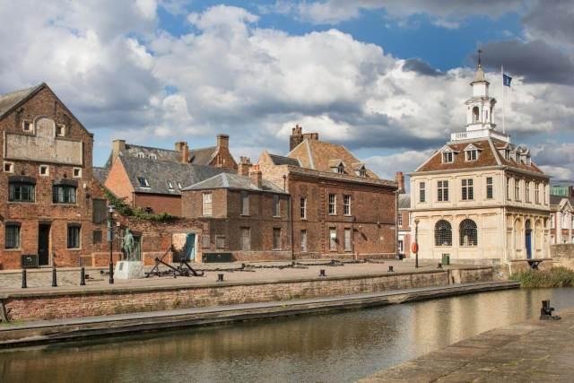 Custom House, Purfleet Quay, King's Lynn, Norfolk © Historic England Archive DP217310