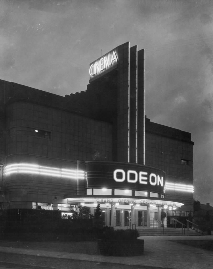 Odeon cinema, King's Road, Kingstanding, Birmingham, July 1935 © Historic England Archive BB87 02845