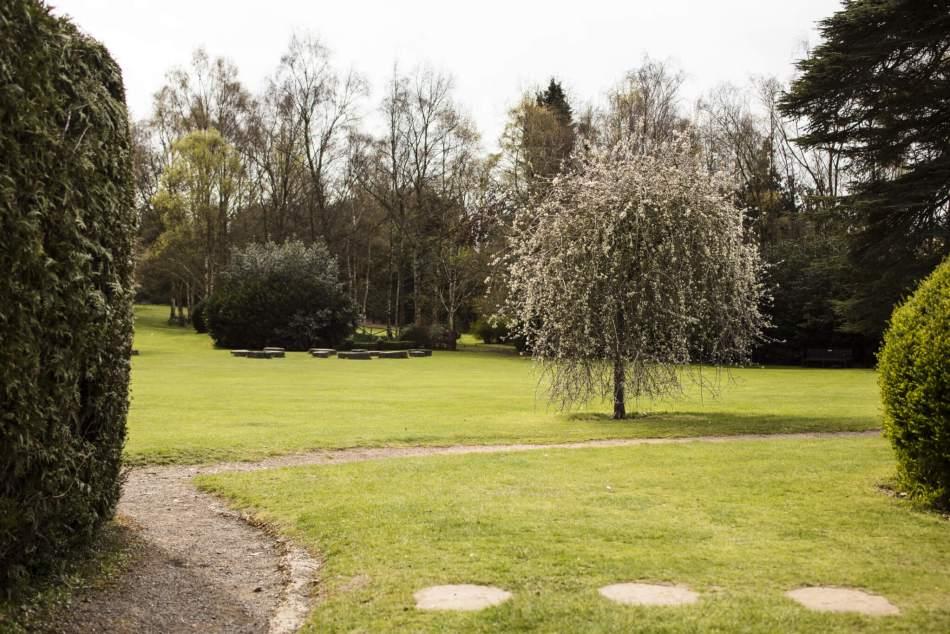The Improvement Garden at Stockwood Park, Luton, Bedfordshire © Historic England Archive DP247684