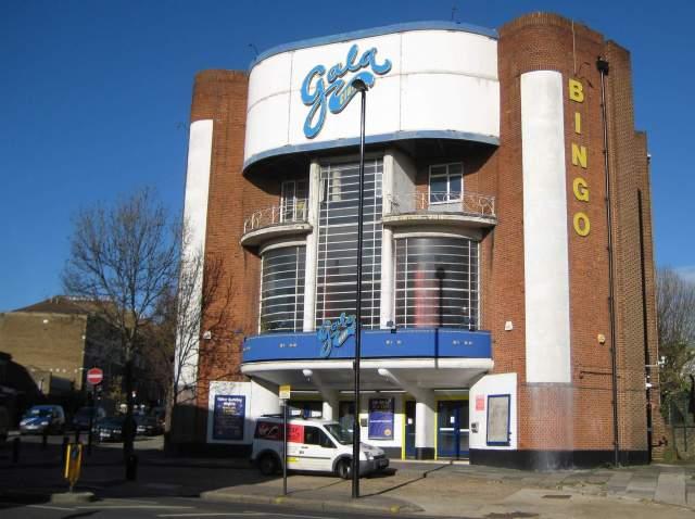 Gala Bingo Club, Ealing, London, November 2010. Image by Nigel Cox via Enriching the List