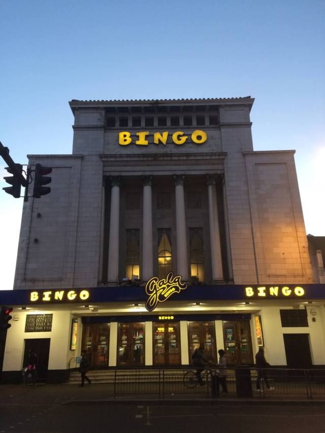 Gala Bingo Hall, 50-60 Mitcham Road, Tooting Graveney, Wandsworth, London. Photo by Dominic Martin via Enrich the List
