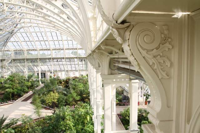 Detail of the Temperate House at Kew © Historic England Archive