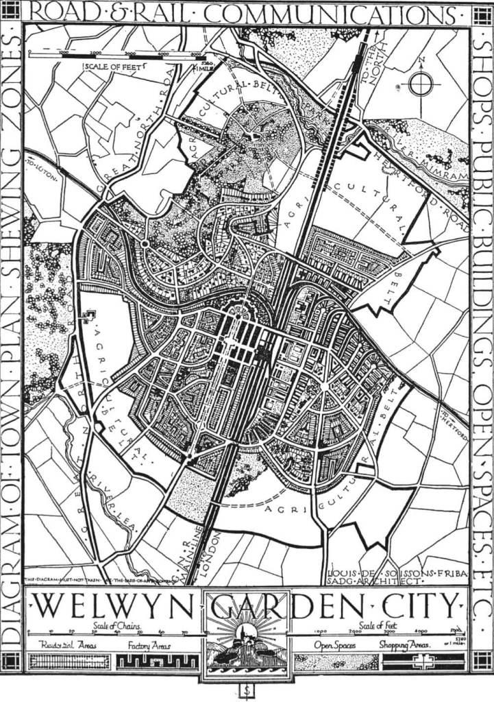 Welwyn Garden City masterplan