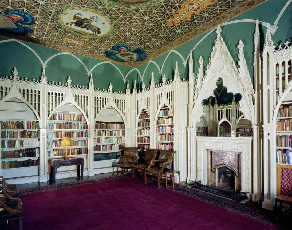 Walpole House, First Floor, Library, View From South East. (Colour).