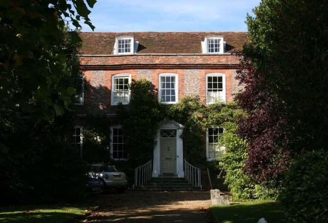 Front view of Chantry House, Steyning, West Sussex