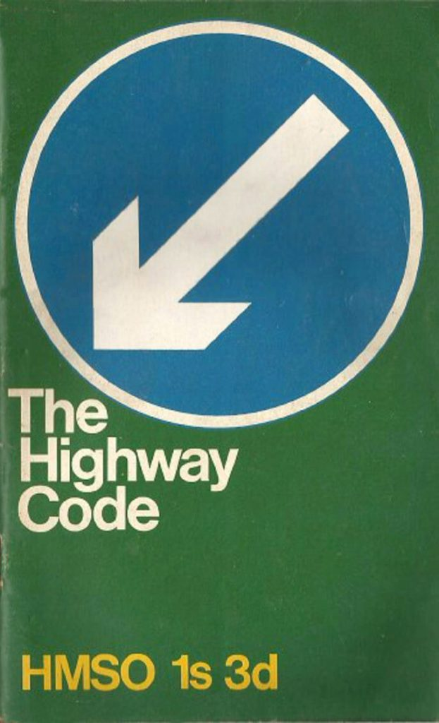 The Highway Code's sixth edition - green