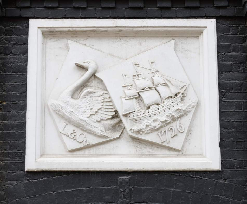 sign on the former Ship Binding Works