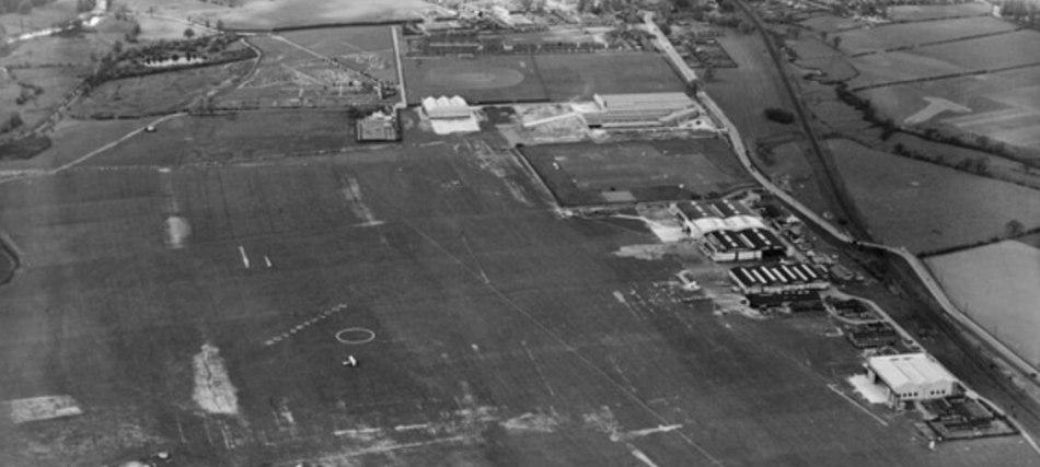Southampton Municipal Airport aerial photo
