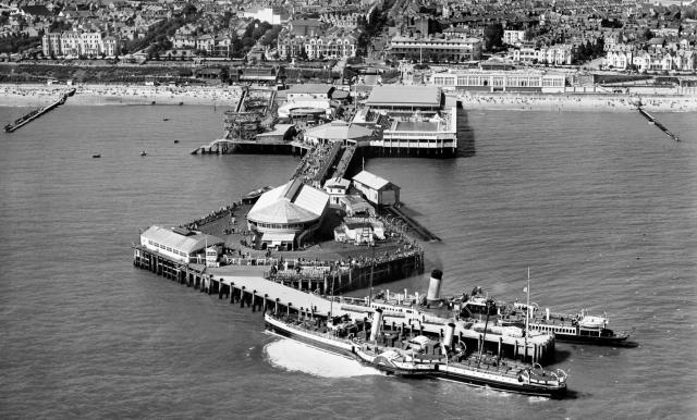 The pier at Clacton-on-Sea