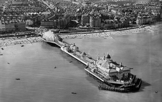 The Pier, Eastbourne from above