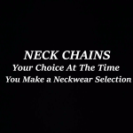 Neck Chain Signage