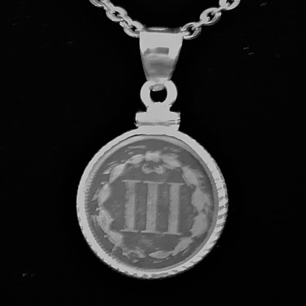 USA Three Cents 1865 .13oz 17.75×1.10mm Diamind Cut Bezel 69 rev v2