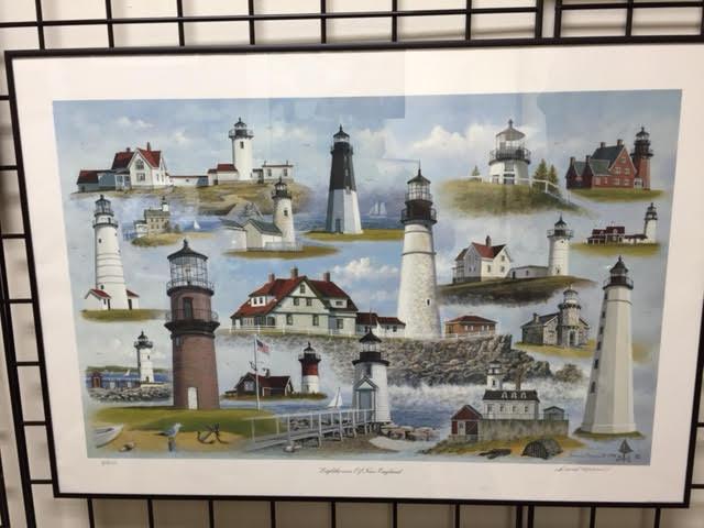 "David Merrill's ""Lighthouses of New England"", 1994"