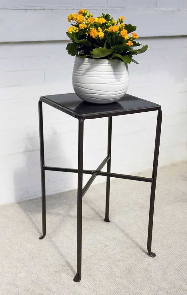 Square Iron Side Table