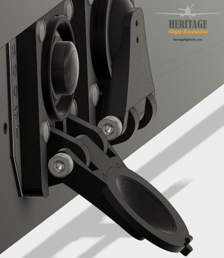 Starter clip detail