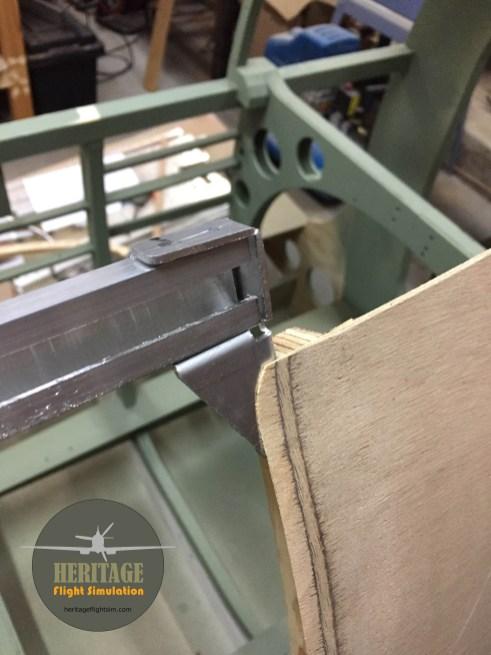 Scarfed panel edge