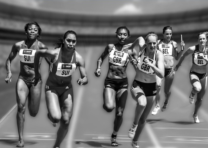 Relay Race – One of the interesting highlights this Olympic