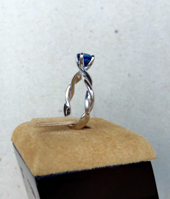 Custom Order Sapphire Engagement Ring