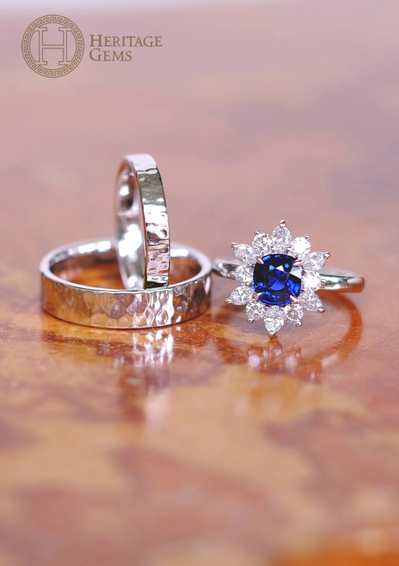 Customise your bespoke jewellery for your engagement or anniversary ...