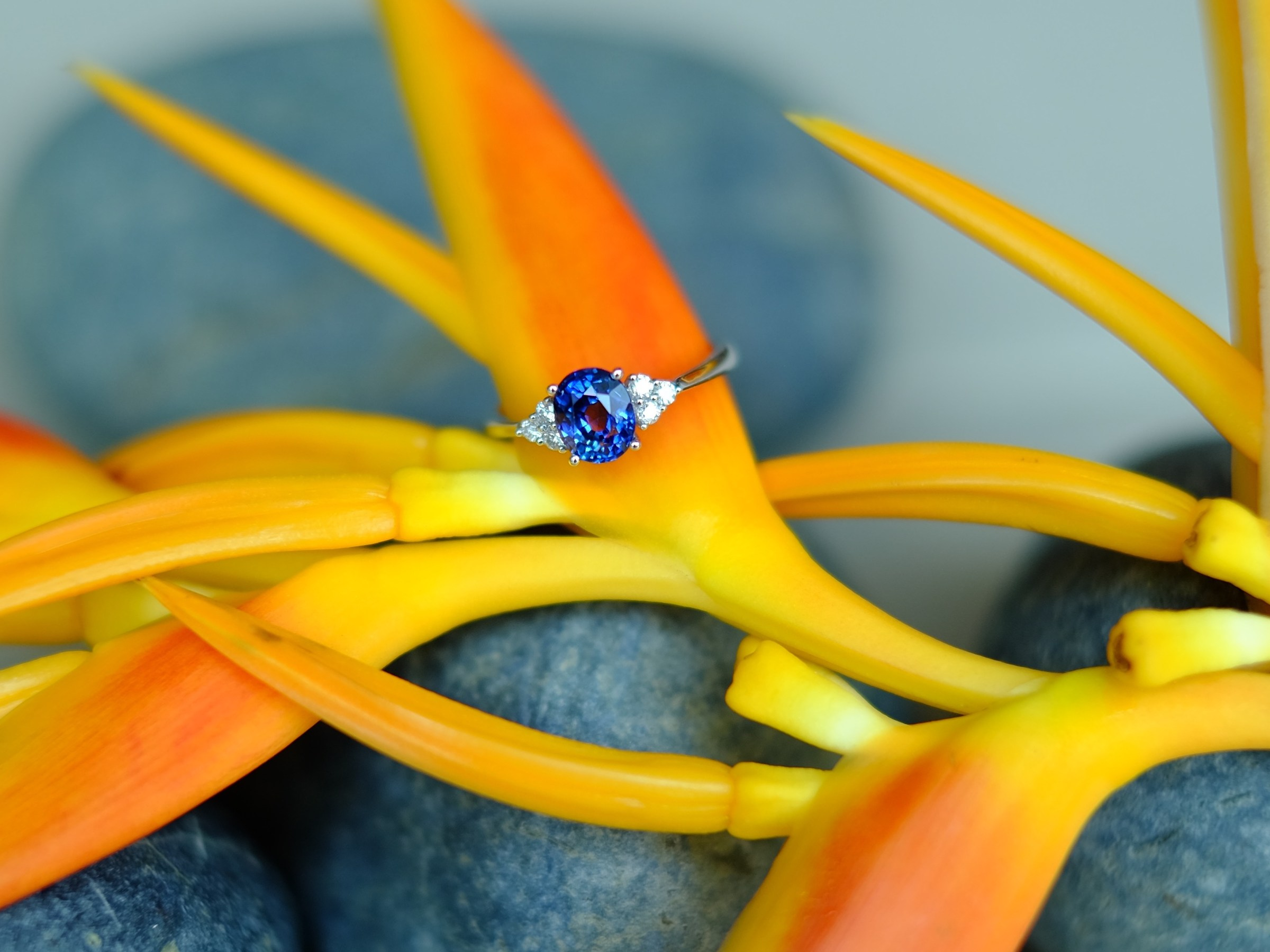 Sapphire Engagement Ring Singapore