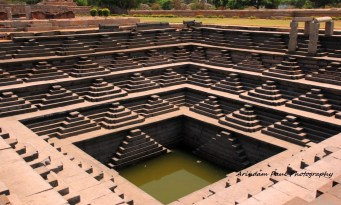 Stepwell at Hampi - Karnataka