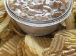 Best-Ever Homemade French Onion Dip- Heritage Home Ec Are you a chips and dip addict like me? If you love french onion dip, you are going to love how easy and delicious this homemade version is. | Food | Recipes | Homemade | Home Economics |