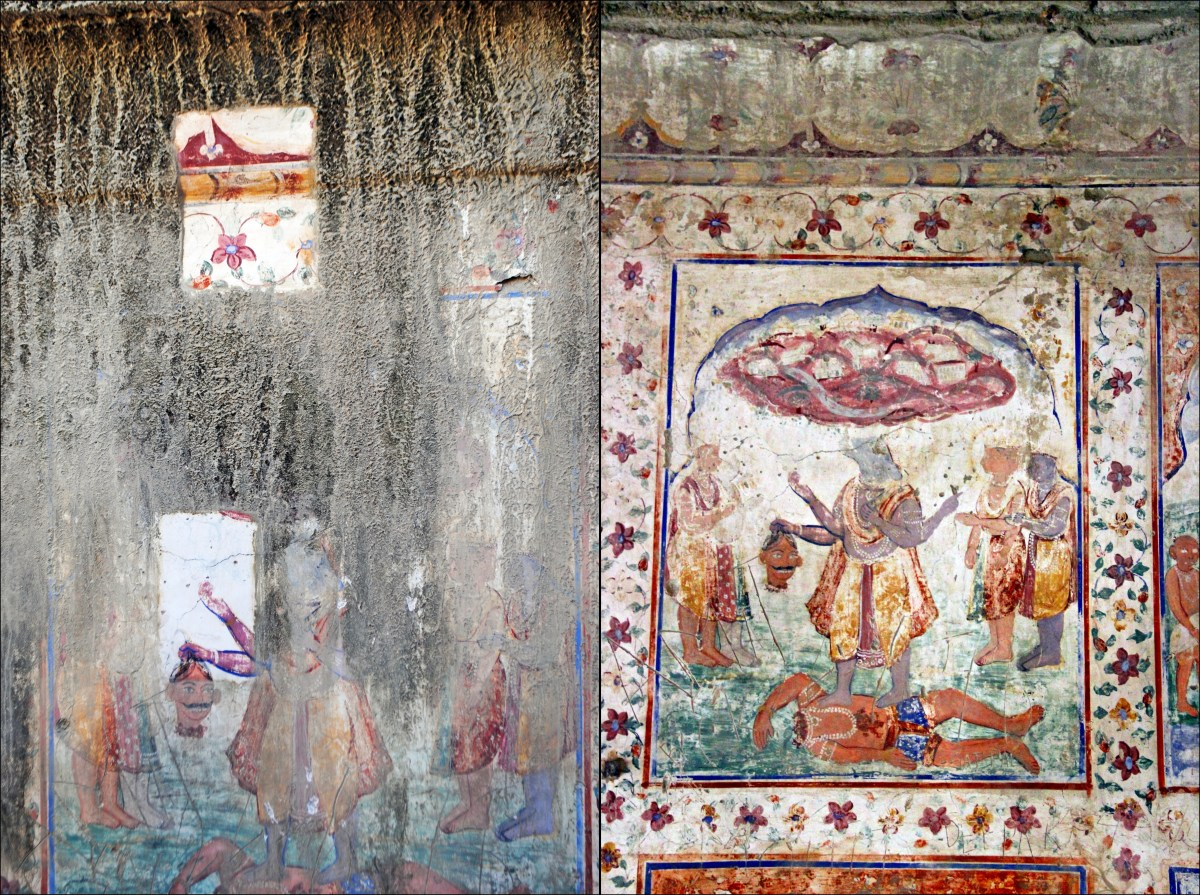 Frescoes vs Tempera