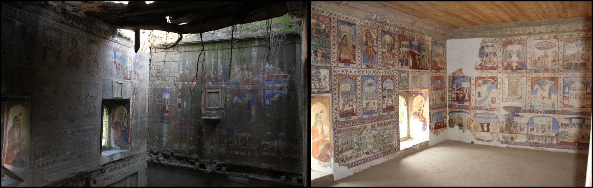 Rescuing Frescoes from ruins