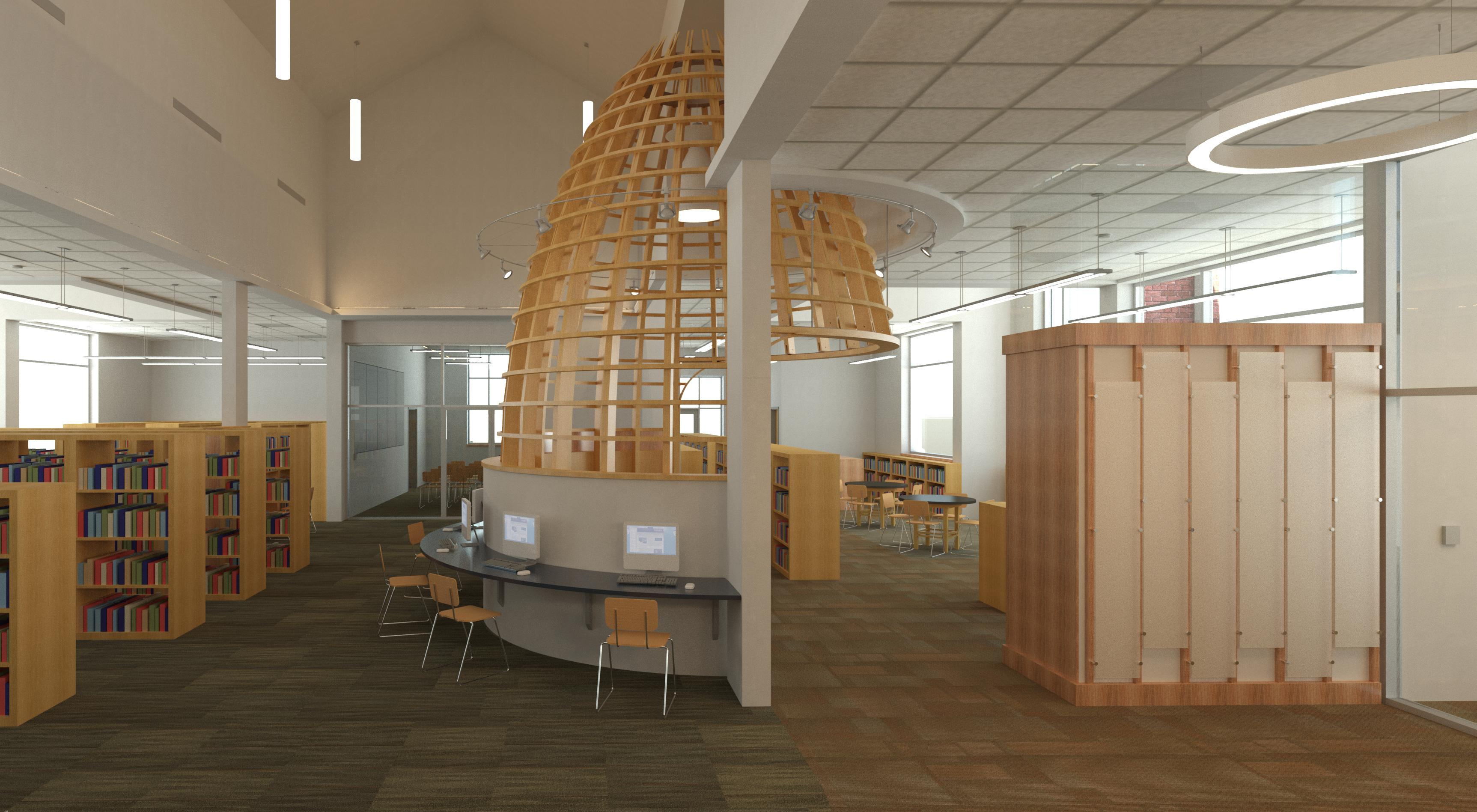 Virtual Tour of the Charles City Library and Richard M. Bowman Center for Local History