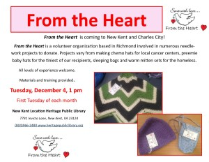 From the Heart @ Heritage Public Library  | New Kent | Virginia | United States