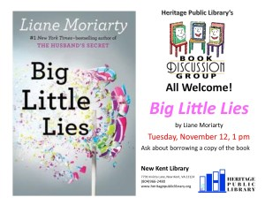 Book Discussion Group - NK @ Heritage Public LIbrary | New Kent | Virginia | United States