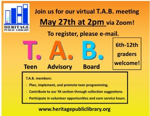 T.A.B. Virtual Meeting