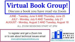 Virtual Book Discussion Group