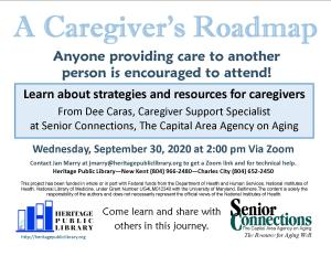 A Caregiver's Roadmap @ Heritage Public Library