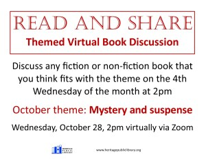Read & Share - Themed Virtual Book Discussion