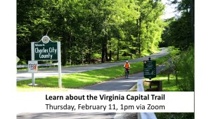 Learn About the Virginia Capital Trail
