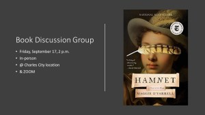 Hybrid Book Discussion Group 📚 - CC @ Heritage Public Library | Charles City | Virginia | United States