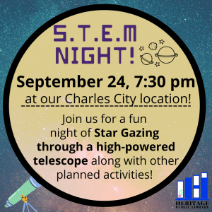 S.T.E.M @ Heritage Public Library | Charles City | Virginia | United States