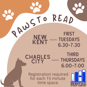 🐕 Paws to Read - CC 🐾