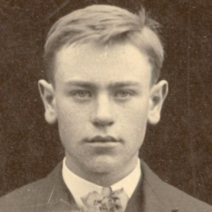 This image of George A. Roberts was cropped from a family portrait. It was taken circa 1904.