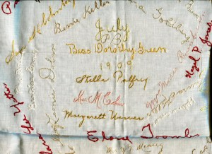 1909_GREEN_Bess Dorothy_Friendship Handkerchief-1