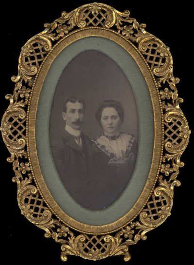 Wedding Photo of Joseph and Helen Cooper