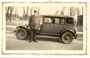 Lt. John Brandenburger with His Car