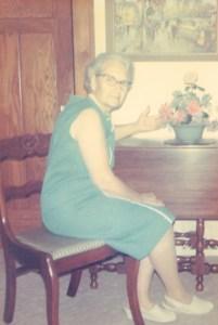 Edith Roberts Luck, c1970