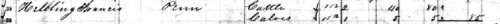 May 1886 Excise Tax for Francis Helbling.