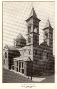 St. Augustine Roman Catholic Church, Lawrenceville, PA. Dedicated in 1901.